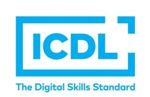 Logo ICDL, attestant de la certification PCIE, obtenue par CF Evolution.